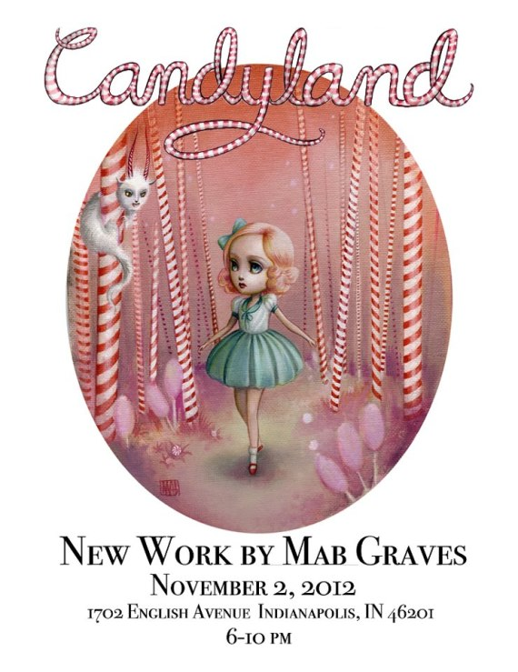 Mab Graves candy land