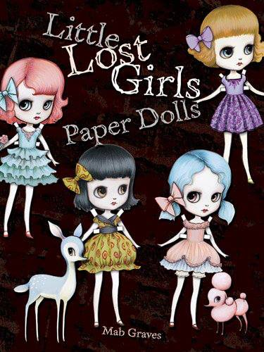 Mab Graves Little Lost Girls Paper Dolles