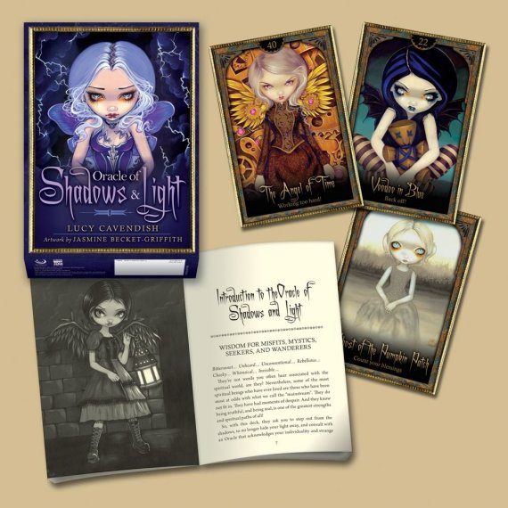 Jasmine Becket-Griffith Oracle Card Title Shadow & Light