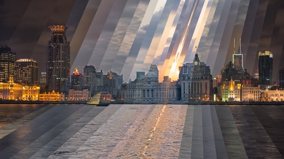 Sunset at the Bund, 2014. All Rights Reserved.