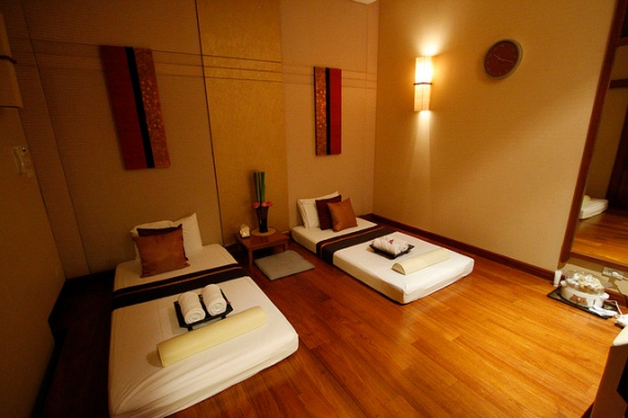 Rarinjinda BKK massage room