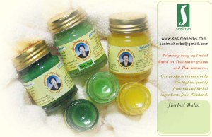 lemongrass Herbal Balm