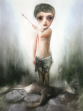 Richard Oliver - Boy and Arrow-
